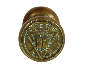 Brass Doorknob | Bible Quote | John 17 21 | Vintage Architecture | Home Renovation |