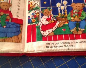 Teddy Bear Christmas book