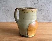 Handmade, wood fired large mug, by Julie crosby-Reserved for frankieolives