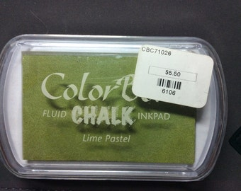 Lime Pastel Color Box Fluid Chalk ink pad