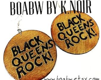 Black Queens Earrings