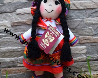 Andean Doll Lina FREE SHIPPING