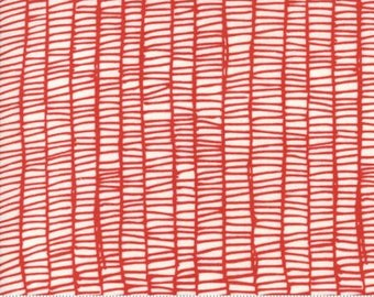 MODA Merrily Weave Red Berry 48215 12 by Gingiber