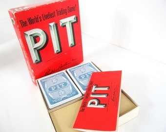 Vintage Pit Trading Game, 1962 - Complete with Instructions