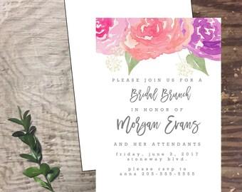 Bridal custom handmade cards  invitation wedding shower invite rehearsal dinner bride personalized bride shower invitation