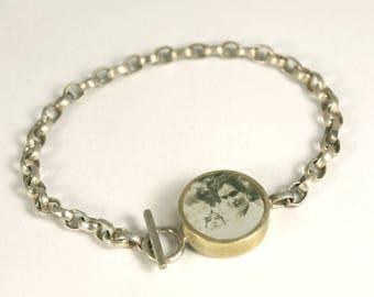 Custom Photo Rolo Chain Bracelet