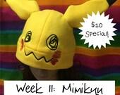 Pokemon Mimikyu Fleece Cap Hat Beanie (SPECIAL PRICE)