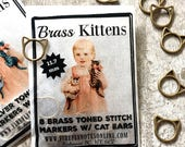 Kitten stitch markers