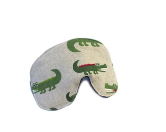 eyemask crocodile canvas adjustable