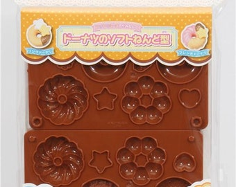 161619 3D molds for clay donuts cookies