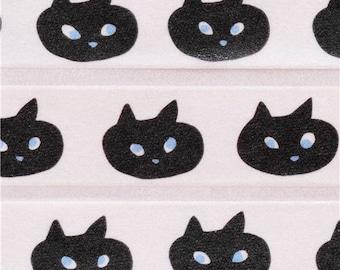 197662 white Shinzi Katoh cat animal Washi Masking Tape deco tape
