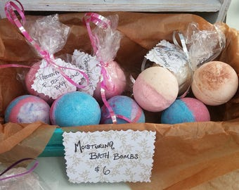 Luxurious Pearberry Bath Bombs