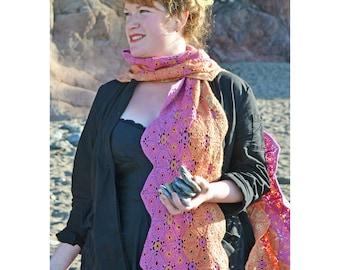 Isabella Crochet Scarf PDF Pattern