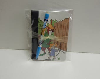 Up cycled MINI Composition Book Disney Robin Hood