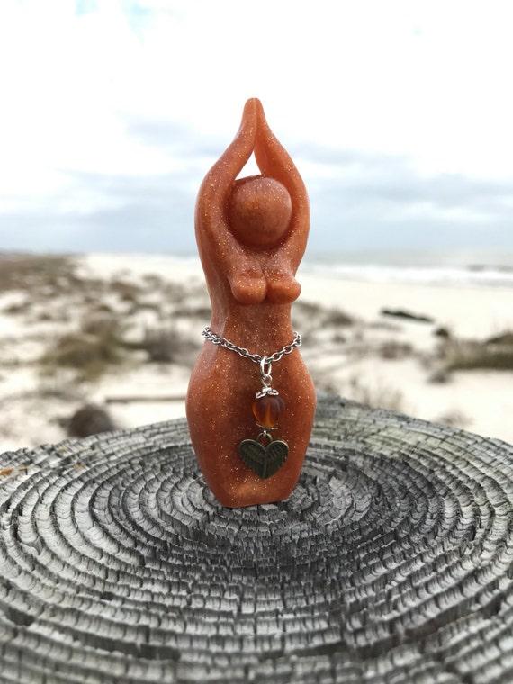 Freya Story Goddess Sculpture (love goddess, fire goddess, Freyja, Frey, Frigg, Frigga, Norse Goddess, Priestess)
