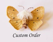Peacock Butterfly Brooch Aglias io