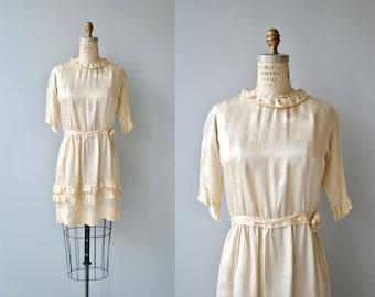 Delauny silk tunic | 1920s silk tunic | vintage silk 20s blouse