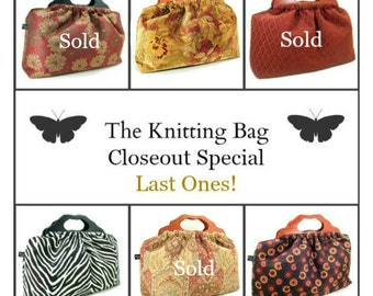 Last Ones - Most Popular - The Knitting Bag - Closeout Special Sale