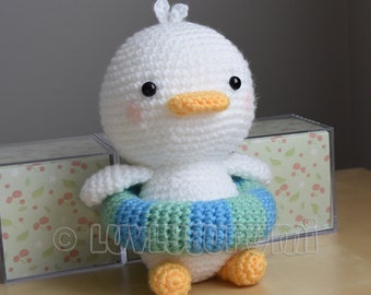 Ducky Crochet Pattern