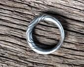 Iron ring oathring pure iron Viking