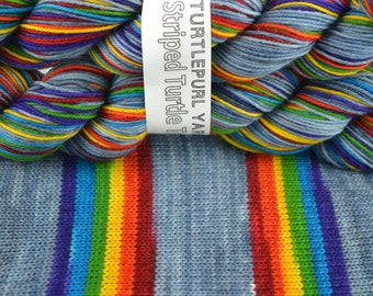 What Does It Mean? - Hand-dyed Self-striping sock yarn