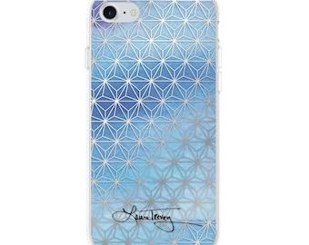 Laura Trevey iPhone Case  - Ombre Geometric
