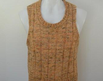 last chance Vintage Penneys TOWNCRAFT Sweater Vest size xl 1960's 70's