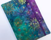 Nook Glowlight Plus Cover, Kindle Paperwhite Cover, all sizes,  Turquoise Sunset Tablet hardcover Cover