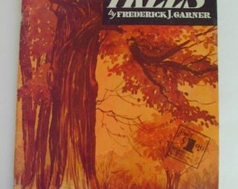 Vintage How to Draw Trees Shrubs Landscapes Frederick J Garner Walter Foster Art Instruction Book