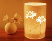 SECONDS SALE! Daisy candle cover half price!