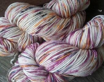 Samhain handdyed worsted merino yarn