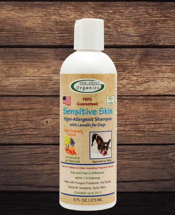 Dog Sensitive Skin Hypo-Allergenic Shampoo 8oz