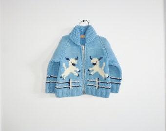 Vintage Lamb Toddler Sweater