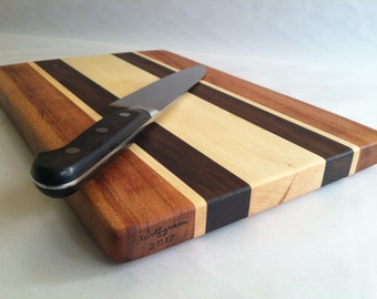 Beautiful Reclaimed Hardwoods Med Cutting Board