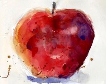 Apple - Original Art or Print - Kitchen Decor