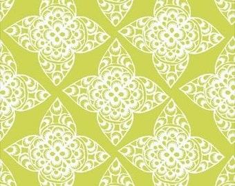 BTY - Lace (Chartreuse) by Ty Pennington