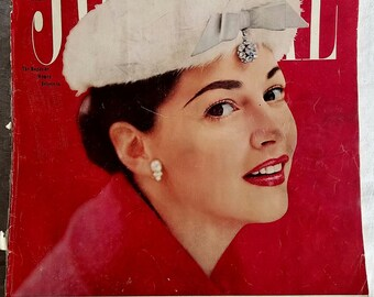 Vintage Ladies Home Journal Magazine February 1957