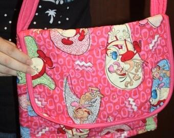 Ren and Stimpy Messenger Bag