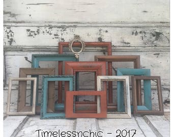 Picture Frame - Picture Frame Set - Wood Picture Frame - Rustic Picture Frame -  Modern Decor - CHIC