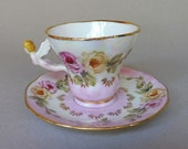 2 Angel Cups and Saucers