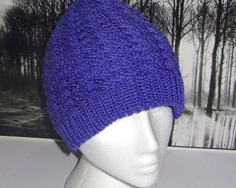 50% OFF SALE Instant Digital File PDF Download Cable Beanie hat pdf knitting pattern