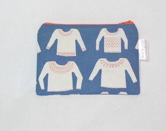 Cozy Sweaters on Blue Notions Case