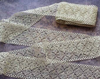 Lovely Antique Lace Trim - 3 yards