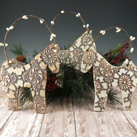 Christmas Tree Ornaments Horse