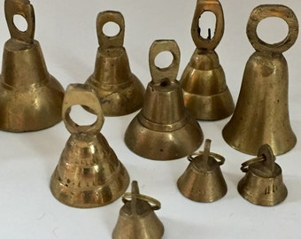 Vintage Brass Bell Collection