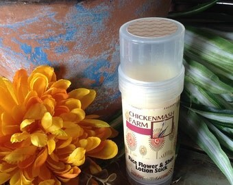 Rice Flower & Shea Lotion Bar   Lotion Stick   Solid Lotion Bar