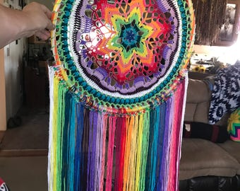 Rainbow colored suncatcher
