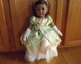 Tiana Doll Costume