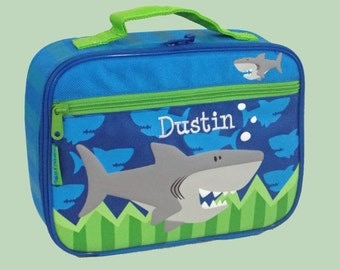 Personalized Child's Stephen Joseph SHARK Lunchbox