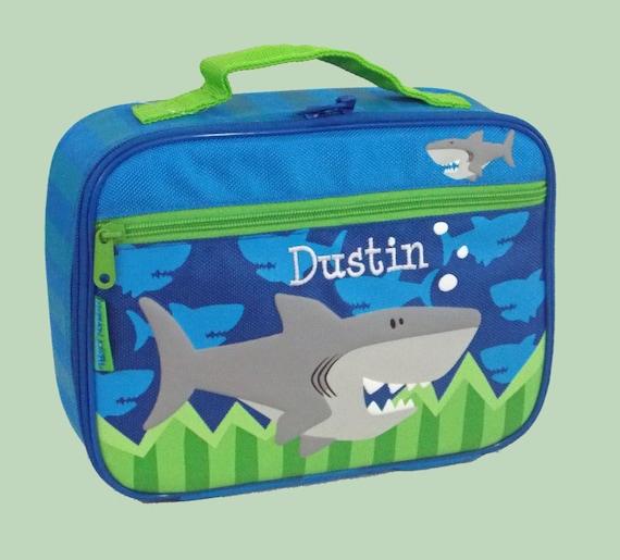 Personalized Child's Stephen Joseph SHARK Lunchbox